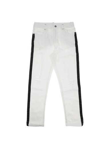 Panço Erkek Çocuk Pantolon 1811100100 Beyaz